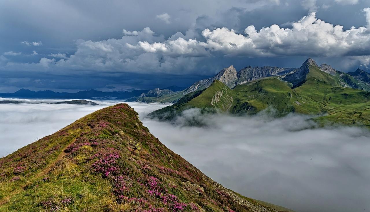 Mer de nuages en montagne P1236310