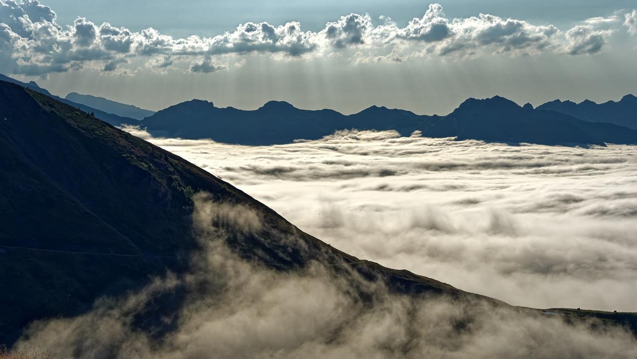 Mer de nuages en montagne P1236411