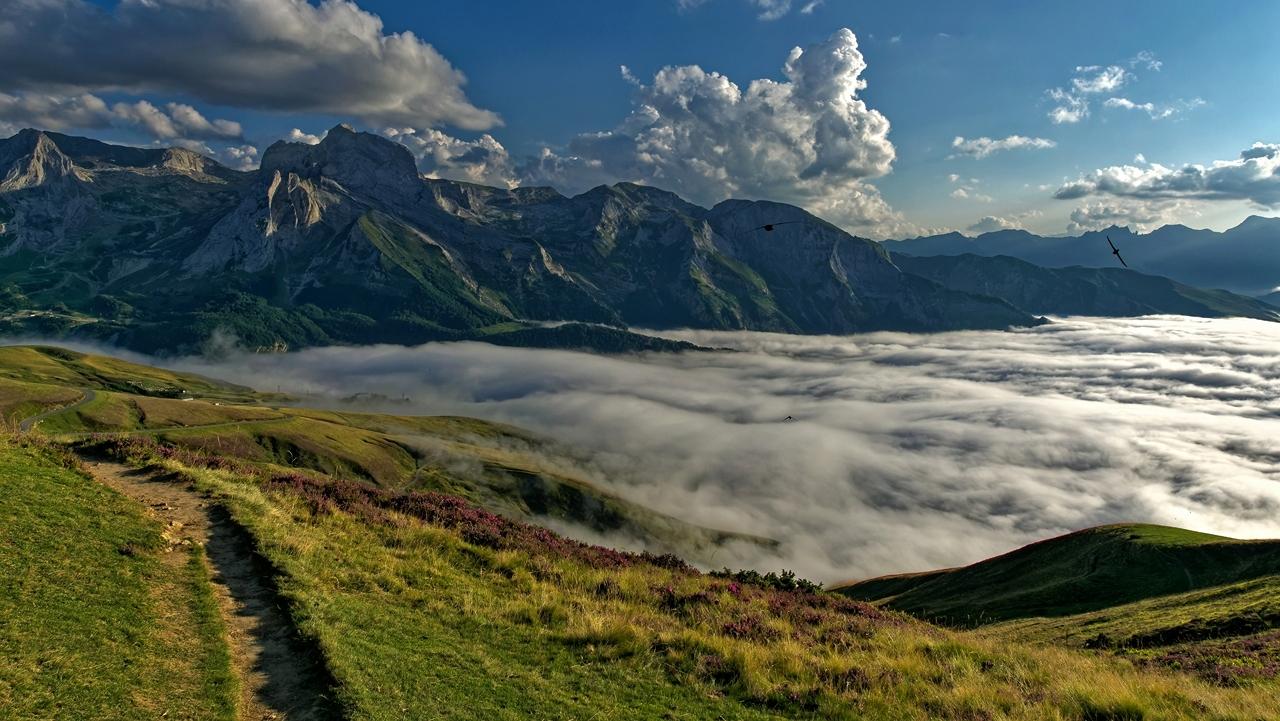 Mer de nuages en montagne P1236412
