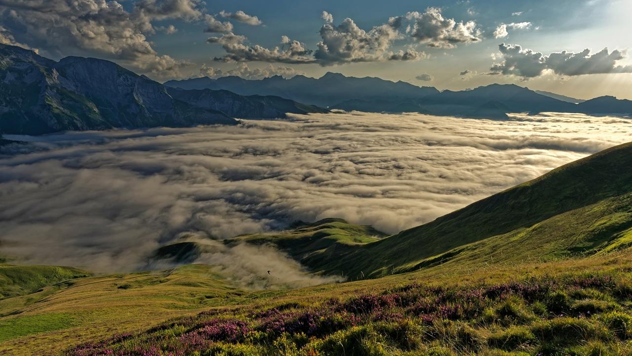 Mer de nuages en montagne P1236418