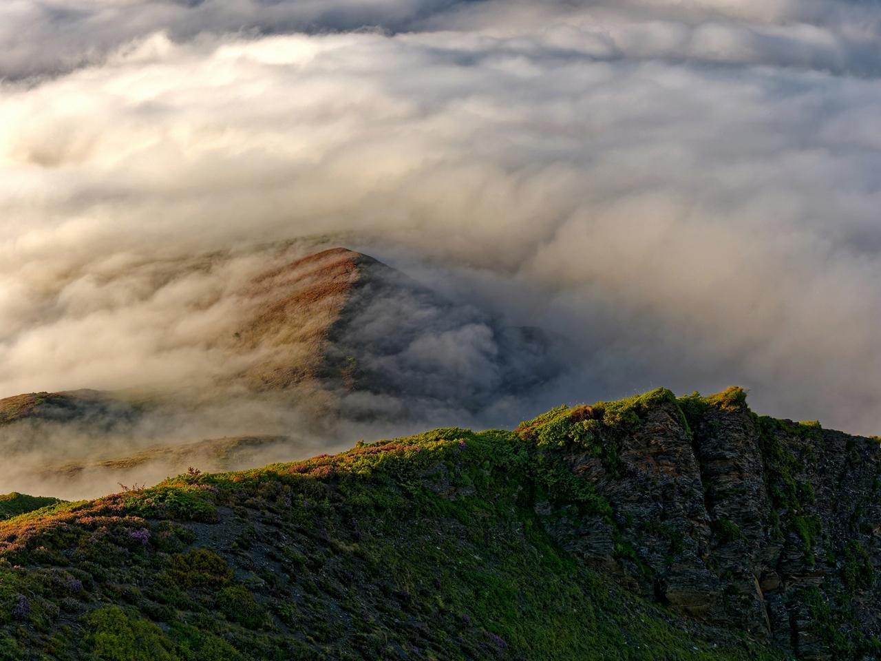 Mer de nuages en montagne P1236419