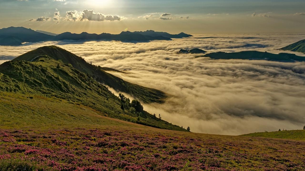 Mer de nuages en montagne P1236420