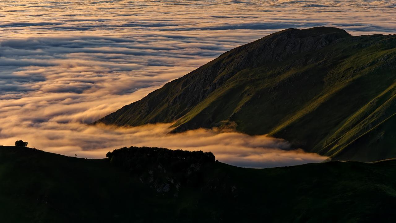Mer de nuages en montagne P1236514