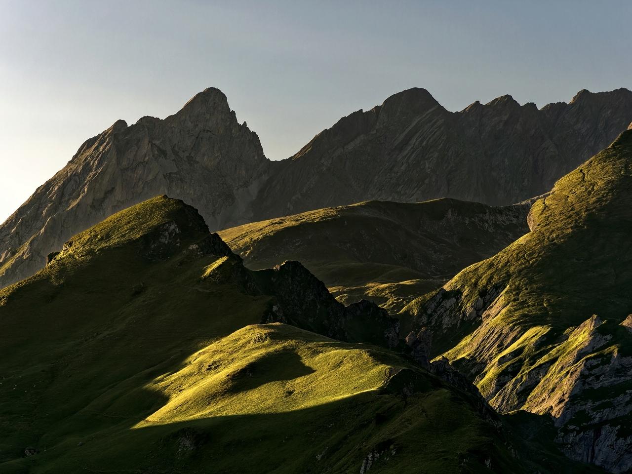 Levé du soleil col d'Aubisque P1236614
