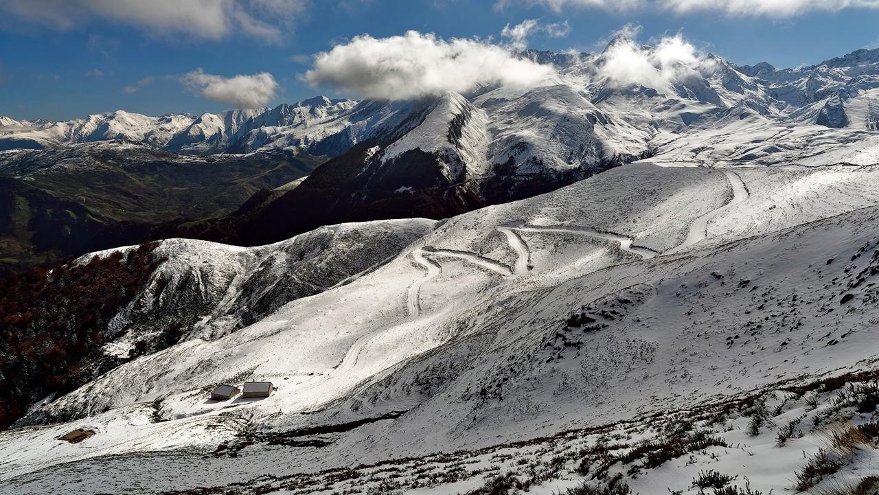 """"""" Matching """" paysage montagnard été/hivers  Pana4111"""