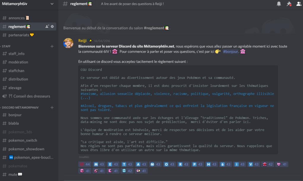 Patch #3 : Forum & Discord Discor10