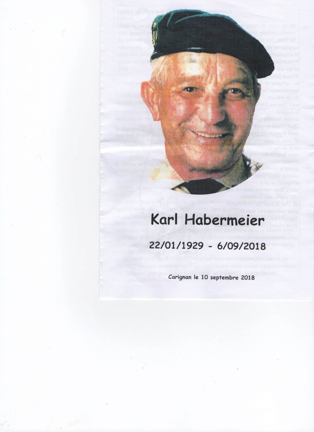 DECES DE KARL  HABERMEIR Img04410