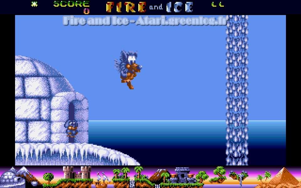 Vos jeux et niveaux où il fait froid préférés - Page 3 Fire-a10