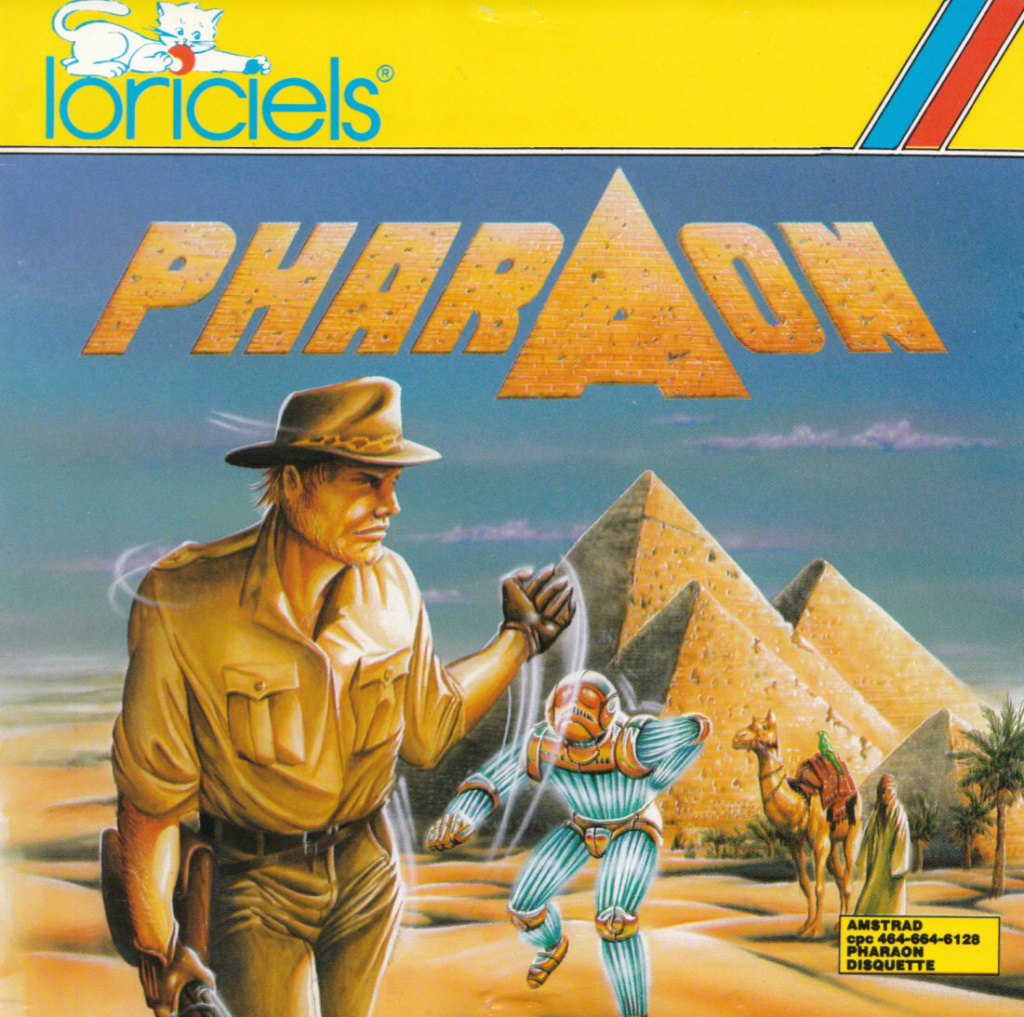 plagiat du cinéma dans les jaquettes des JV Pharao10