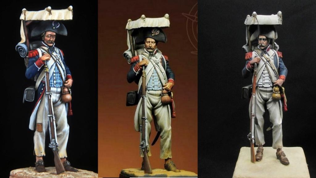 Grenadier en Égypte 1798 A610