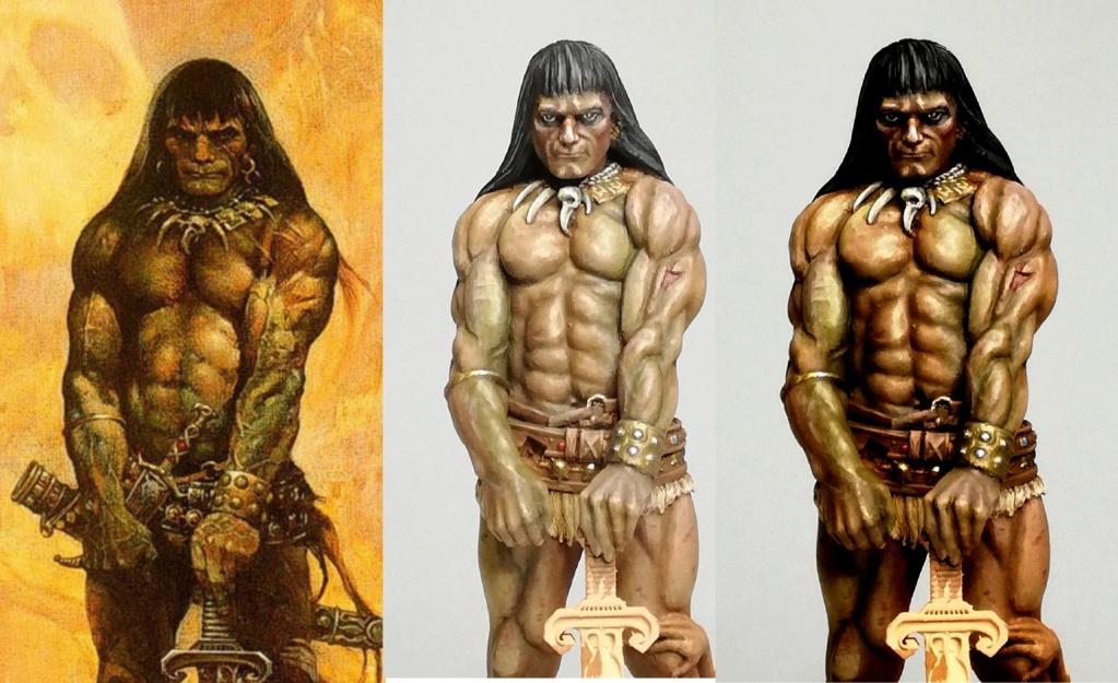 Conan, d'après Frazetta - Terminé Conan_10