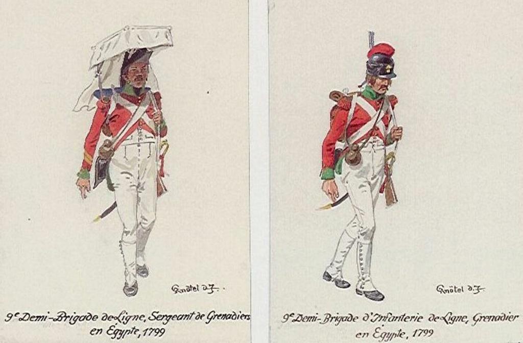 Grenadier en Égypte 1798 Tumblr10