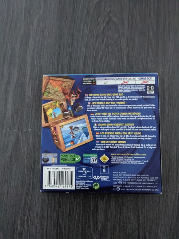 [VDS] Tri Collection NES, SNES, GBA, PS1 complet - Page 3 Pxl_2103