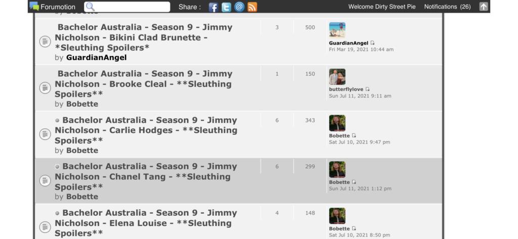 Bachelor Australia - Season 9 - Jimmy Nicholson - Carlie Hodges - **Sleuthing Spoilers** 0cd39610