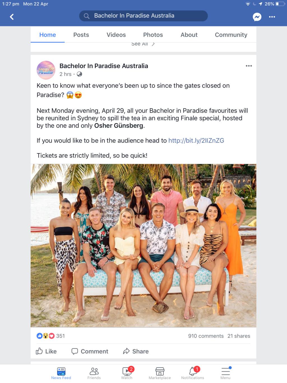 Bachelor In Paradise Australia - Season 2 - Media SM - *Sleuthing Spoilers* - Page 62 E7edbb10