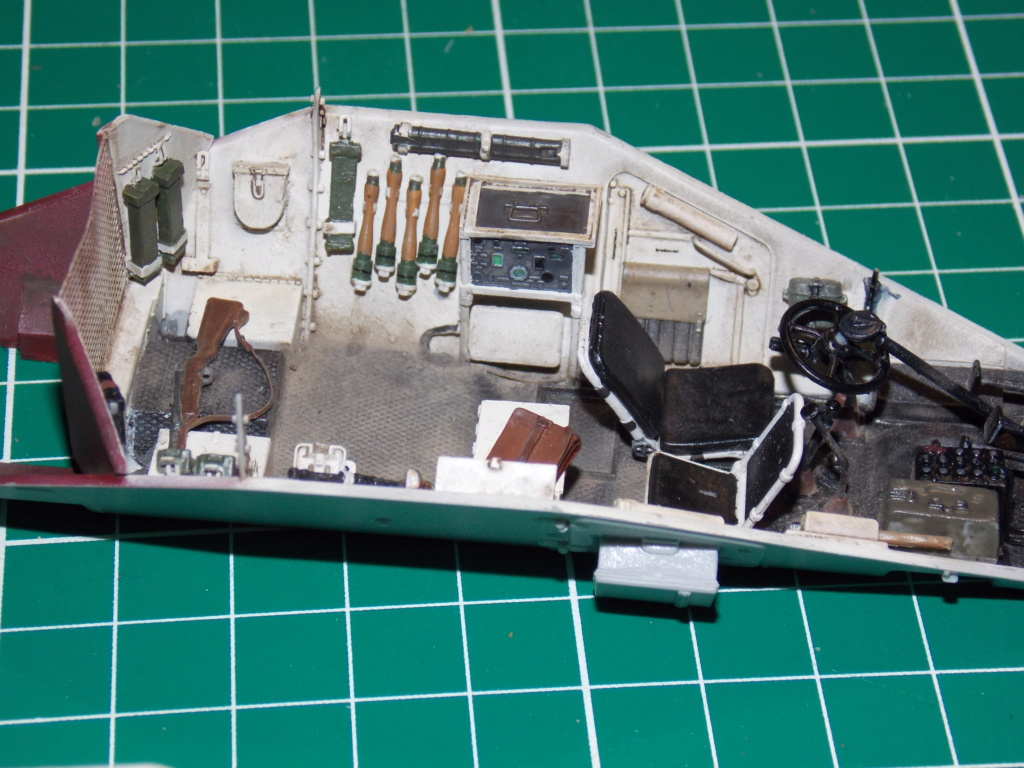 "sdkfz - 12  SS ""BABY DIVISION"" Panther takom sdkfz 223hobby boss  1/35 Dscn1118"