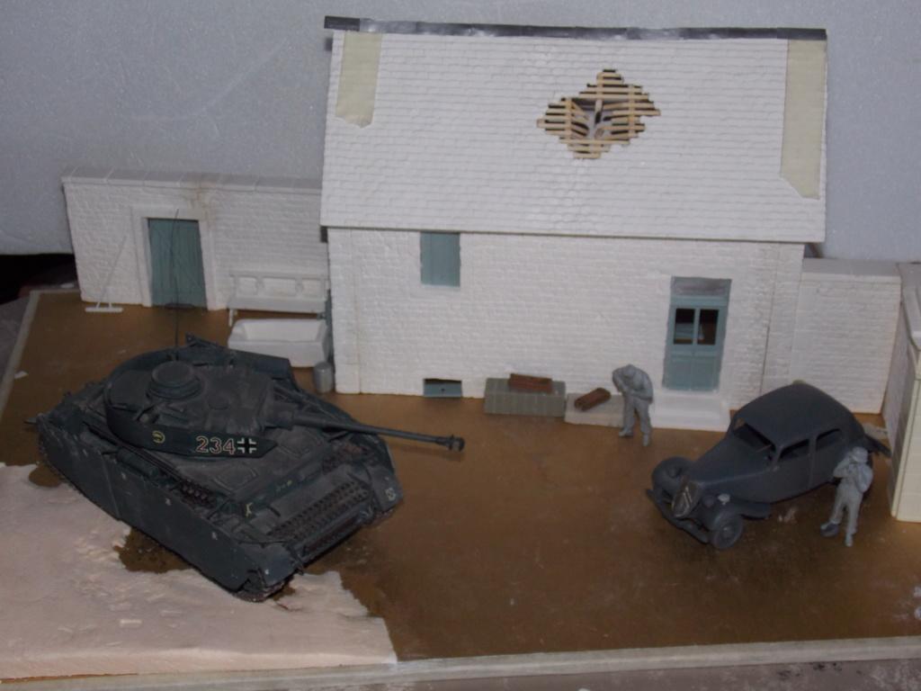 Baby Division Caen 1944 (Panther Takom/ Traction Tamiya- décor Mk35 au 1/35) - Page 6 Dscn1242