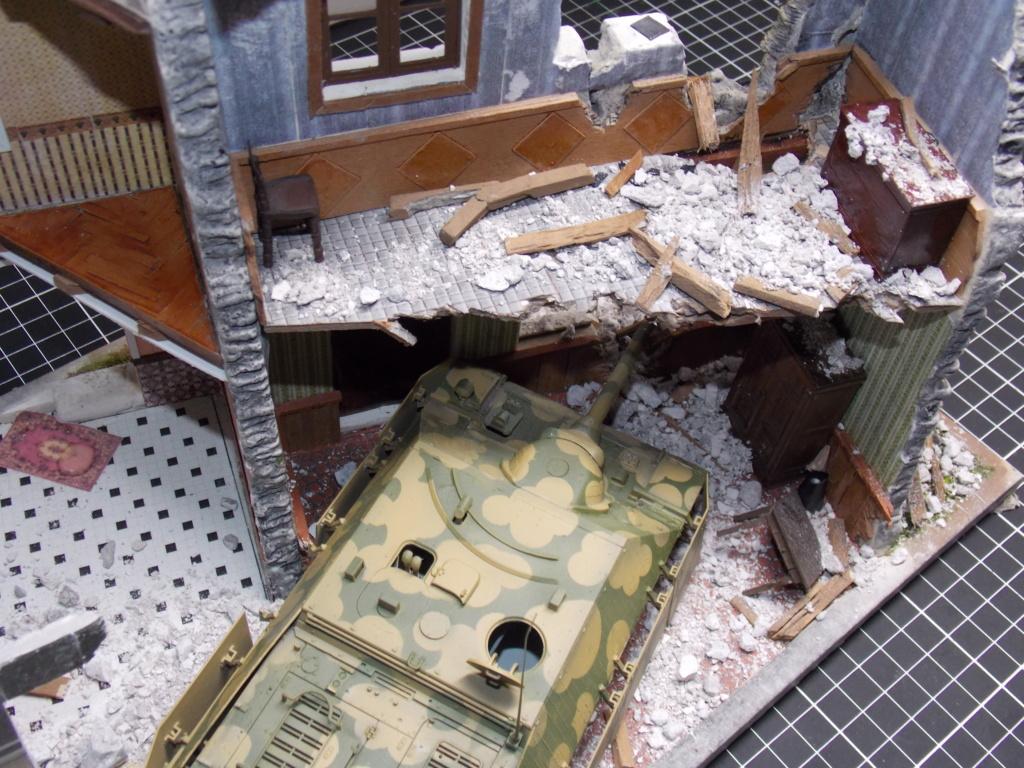 Guet-apens  Jadpanzer IV L48 / figurines DRAGON / décor perso  1/35  FINI  - Page 3 Dscn1349
