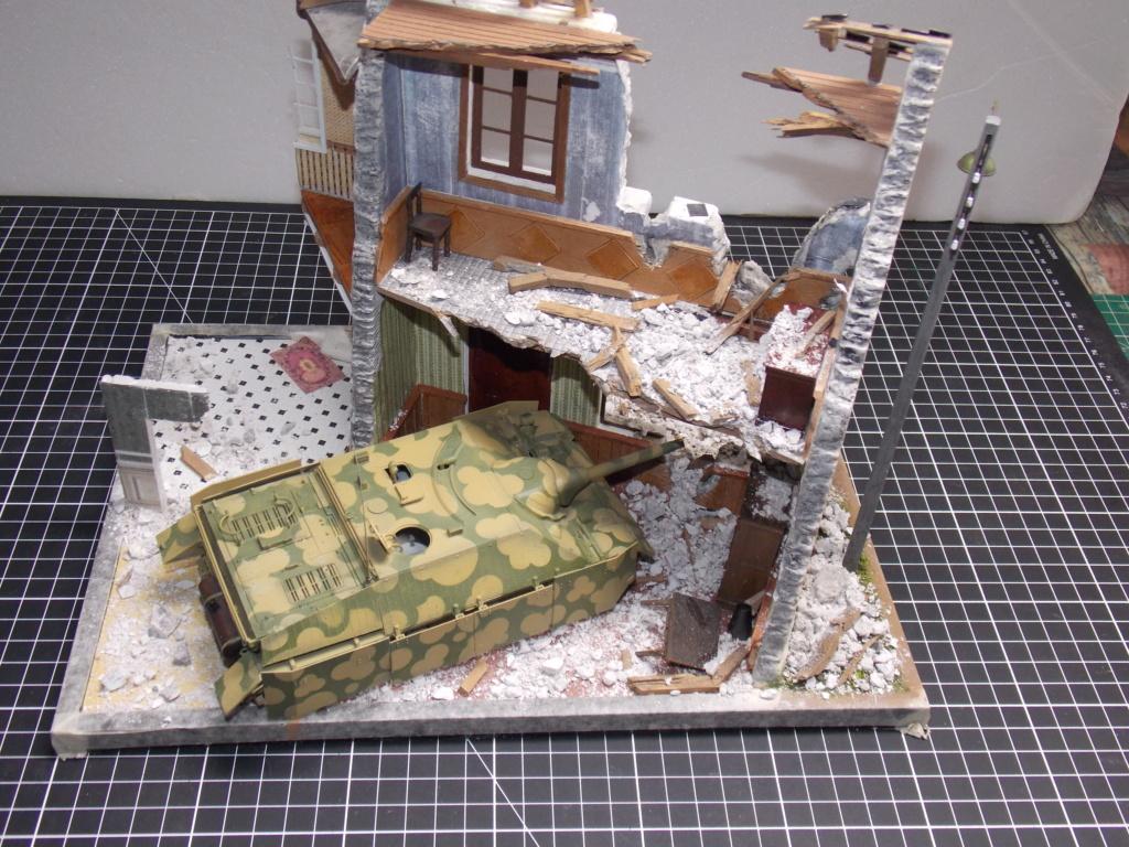Guet-apens  Jadpanzer IV L48 / figurines DRAGON / décor perso  1/35  FINI  - Page 3 Dscn1350