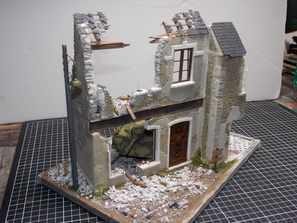 Guet-apens  Jadpanzer IV L48 / figurines DRAGON / décor perso  1/35  FINI  - Page 3 Dscn1354