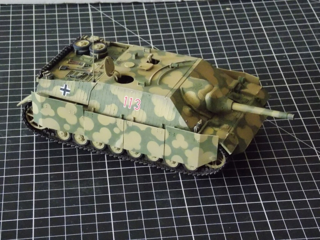 Guet-apens  Jadpanzer IV L48 / figurines DRAGON / décor perso  1/35  FINI  - Page 3 Dscn1375