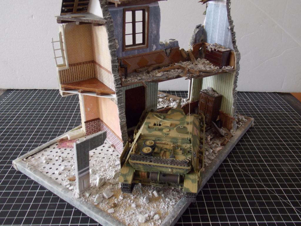 Guet-apens  Jadpanzer IV L48 / figurines DRAGON / décor perso  1/35  FINI  - Page 3 Dscn1379
