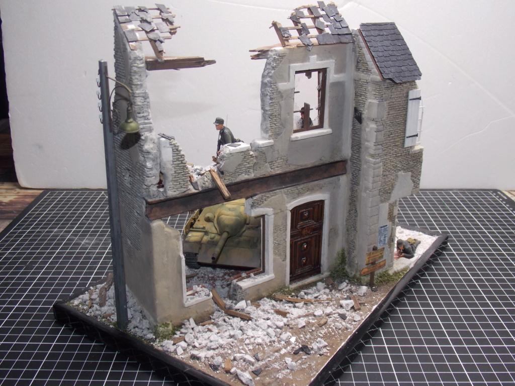 Guet-apens  Jadpanzer IV L48 / figurines DRAGON / décor perso  1/35  FINI  - Page 6 Dscn1556