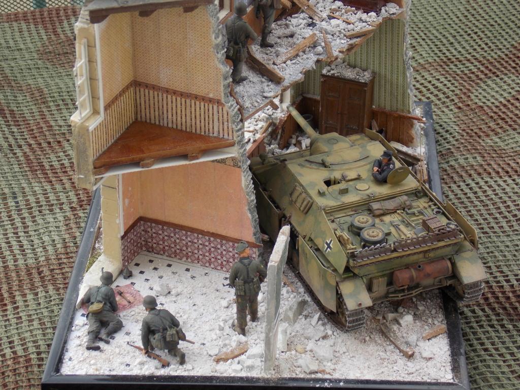 Guet-apens  Jadpanzer IV L48 / figurines DRAGON / décor perso  1/35  FINI  - Page 7 Dscn1647