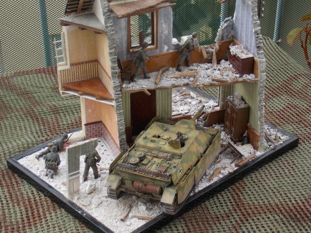 Guet-apens  Jadpanzer IV L48 / figurines DRAGON / décor perso  1/35  FINI  - Page 7 Dscn1649