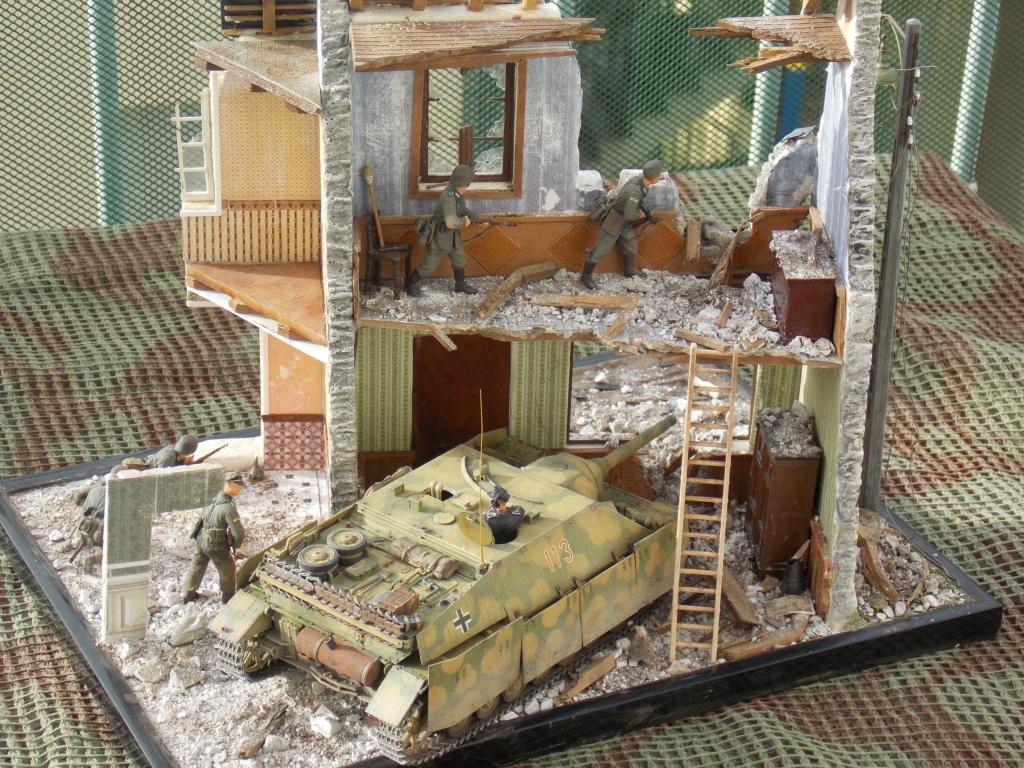 Guet-apens  Jadpanzer IV L48 / figurines DRAGON / décor perso  1/35  FINI  - Page 8 Dscn1721