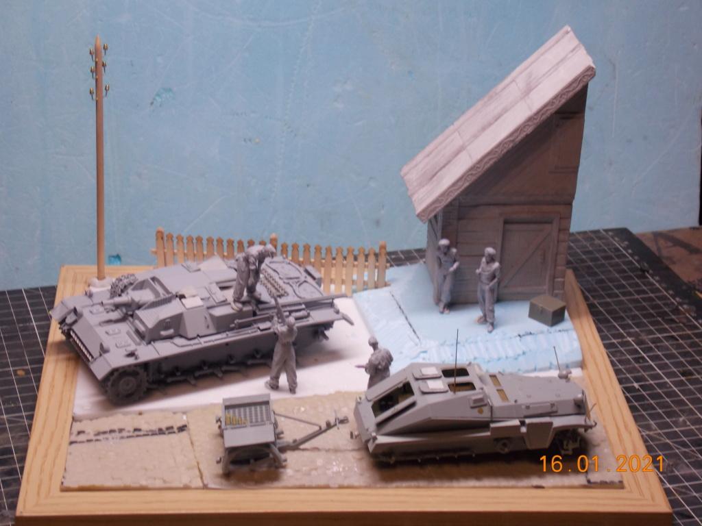 Quelque part sur le front de l'Est Juin 41 - Stug III Ausf.B (Tamiya ) et Sd.Kfz.252 (Dragon ) 1/35 - Page 3 Dscn1796