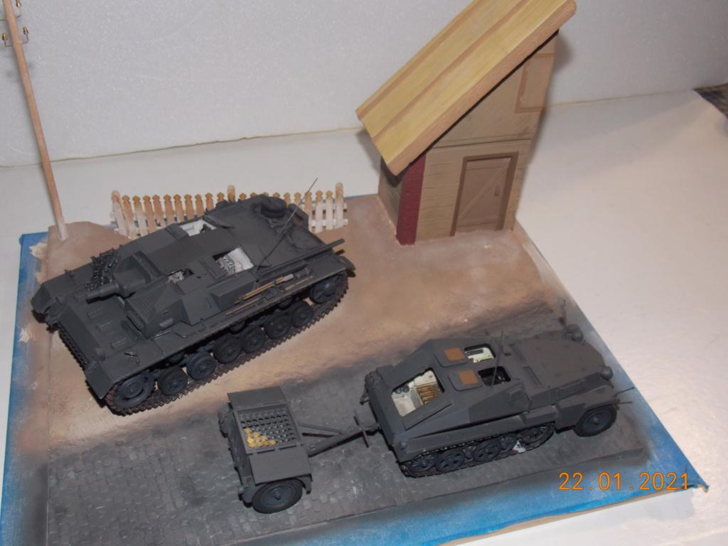 Quelque part sur le front de l'Est Juin 41 - Stug III Ausf.B (Tamiya ) et Sd.Kfz.252 (Dragon ) 1/35 - Page 4 Dscn1825