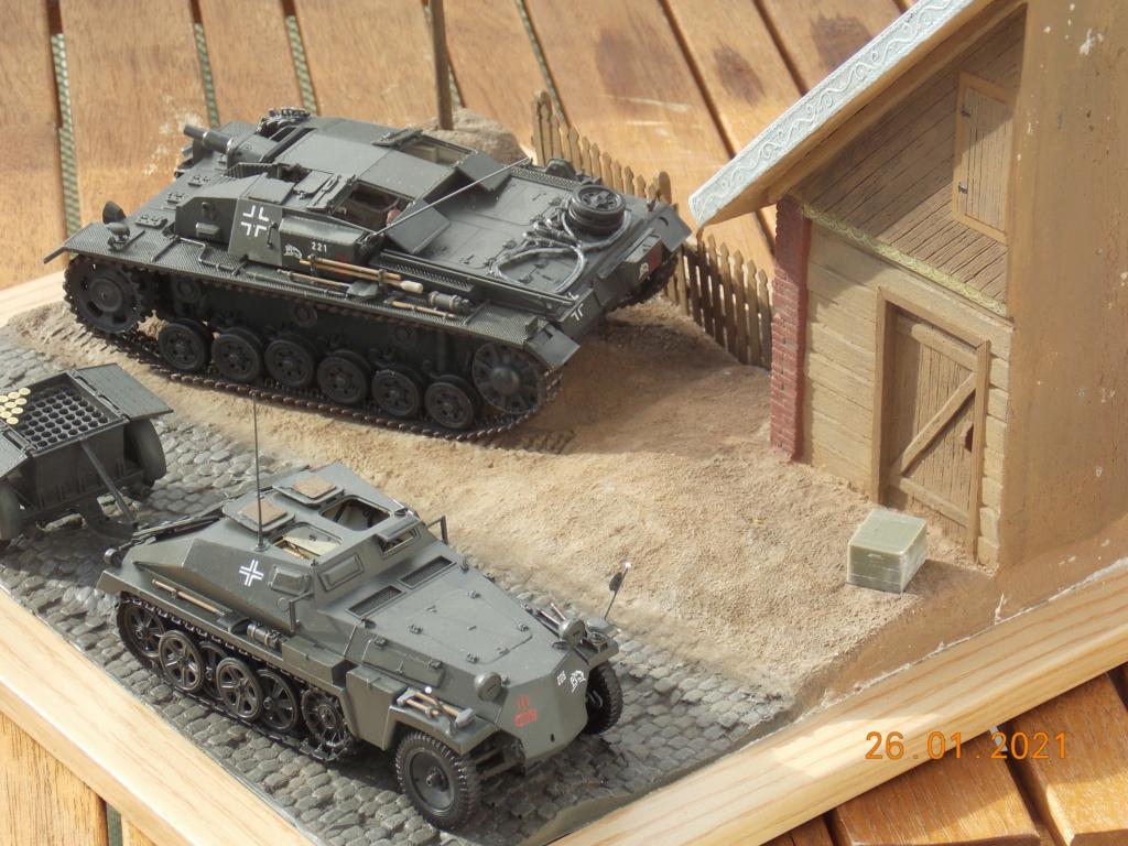 Quelque part sur le front de l'Est Juin 41 - Stug III Ausf.B (Tamiya ) et Sd.Kfz.252 (Dragon ) 1/35 - Page 5 Dscn1868