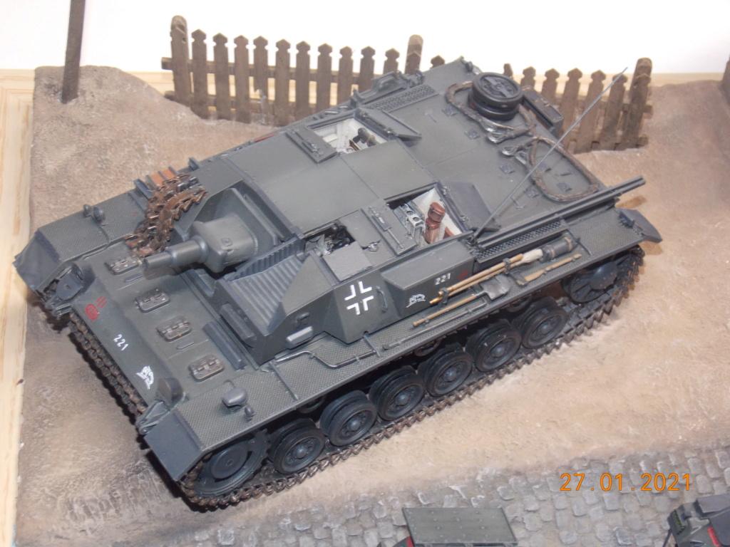 Quelque part sur le front de l'Est Juin 41 - Stug III Ausf.B (Tamiya ) et Sd.Kfz.252 (Dragon ) 1/35 - Page 6 Dscn1902