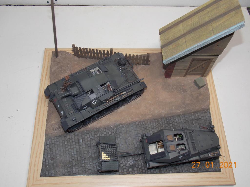 Quelque part sur le front de l'Est Juin 41 - Stug III Ausf.B (Tamiya ) et Sd.Kfz.252 (Dragon ) 1/35 - Page 6 Dscn1905
