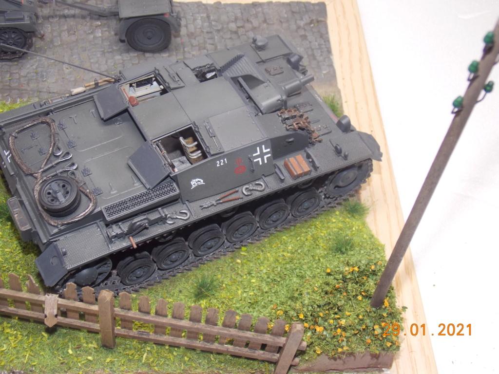 Quelque part sur le front de l'Est Juin 41 - Stug III Ausf.B (Tamiya ) et Sd.Kfz.252 (Dragon ) 1/35 - Page 6 Dscn1914