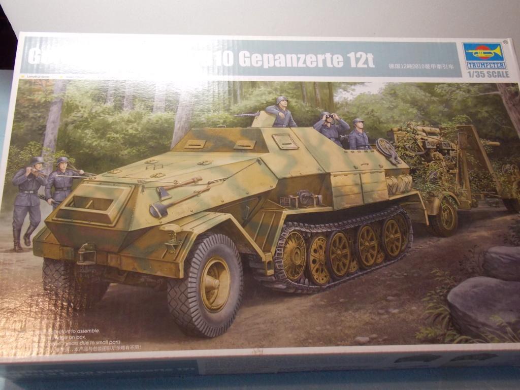 PAK 43 tracté par un Sd.Kfz.8 DB10 Trumpeter et décor MINIART + perso  1/35 Dscn6857