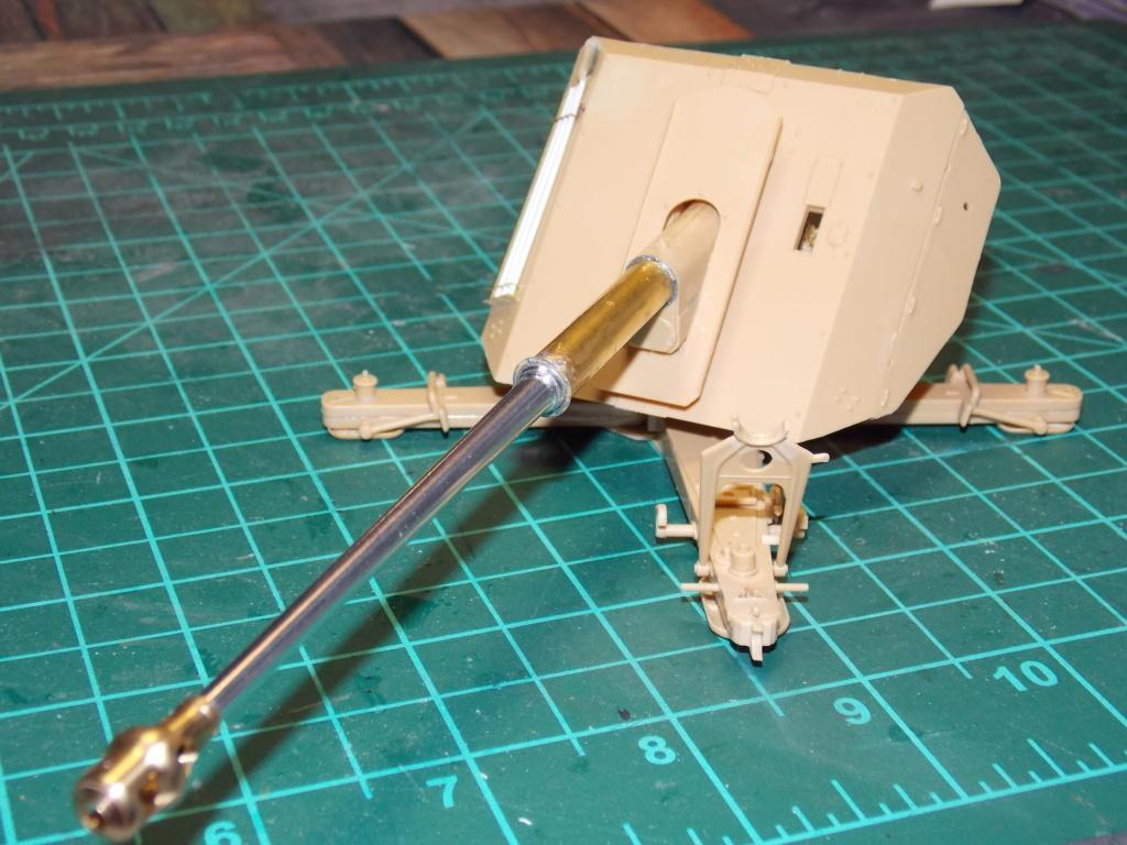 PAK 43 tracté par un Sd.Kfz.8 DB10 Trumpeter et décor MINIART + perso  1/35 Dscn6867