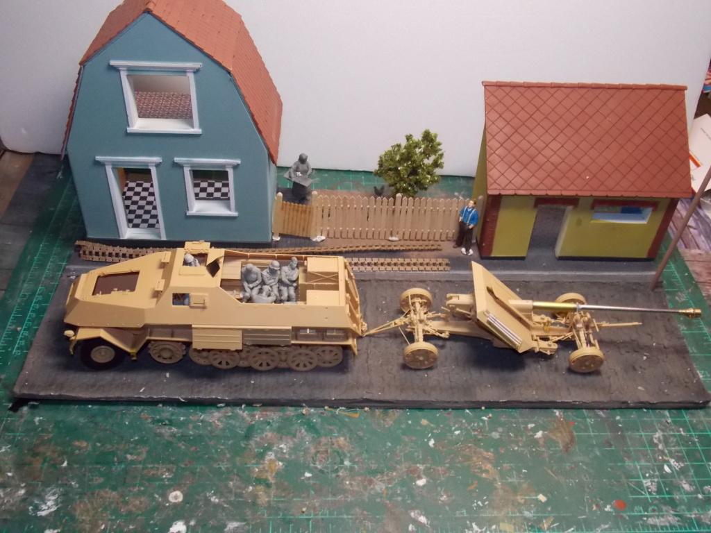 Mi roue mi chenille Pak 43 et semi chenillé lourd 1/35 TRUMPETER  Dscn6982