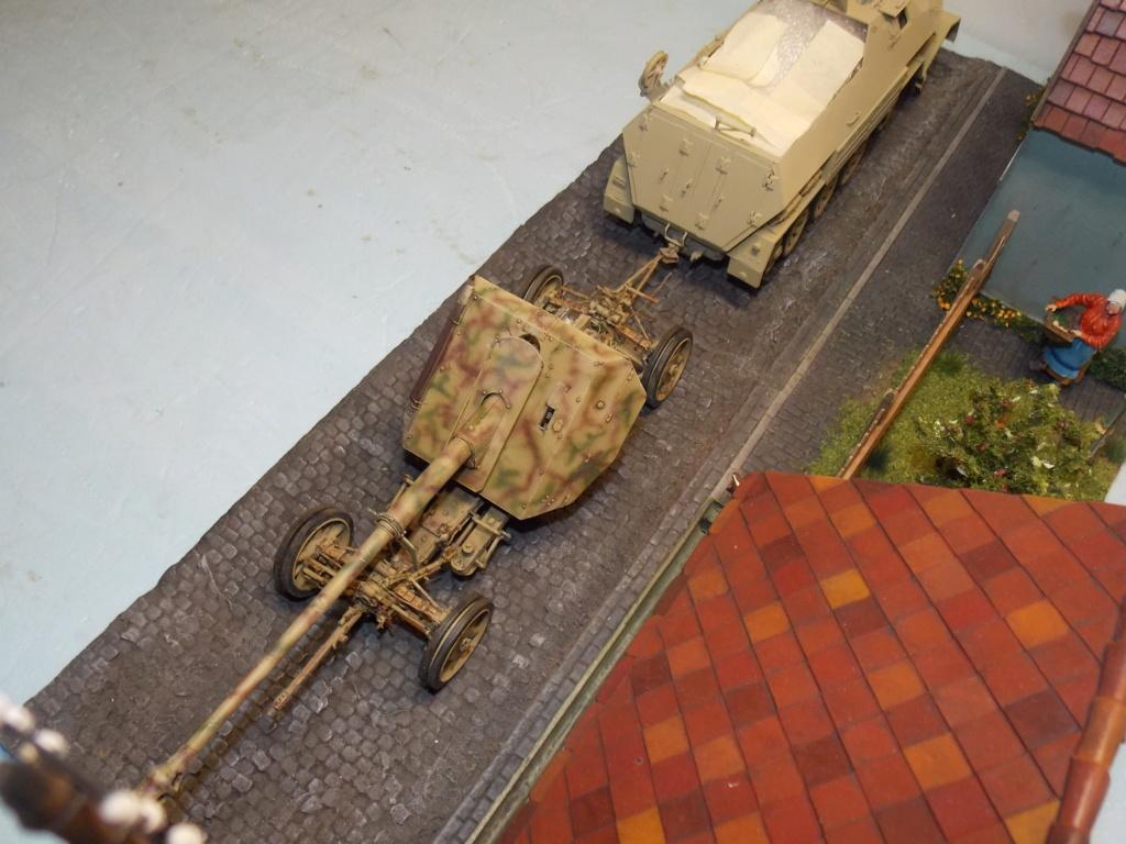 PAK 43 tracté par un Sd.Kfz.8 DB10 Trumpeter et décor MINIART + perso  1/35 - Page 7 Dscn7033