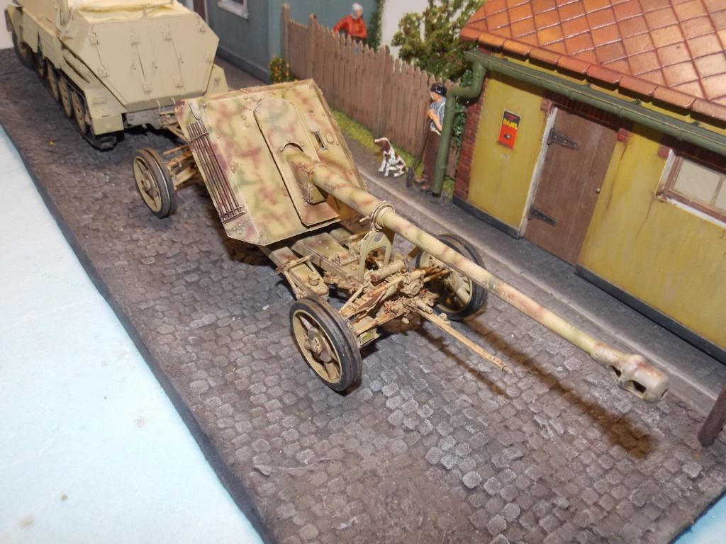 Mi roue mi chenille Pak 43 et semi chenillé lourd 1/35 TRUMPETER  Dscn7039