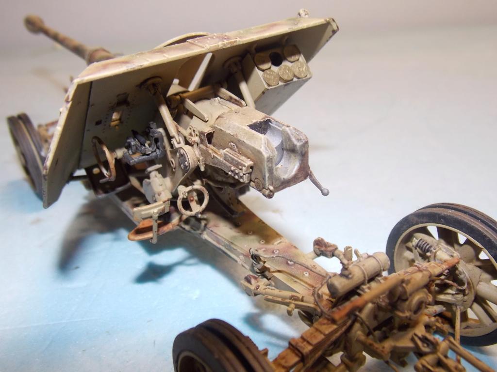Mi roue mi chenille Pak 43 et semi chenillé lourd 1/35 TRUMPETER  Dscn7043