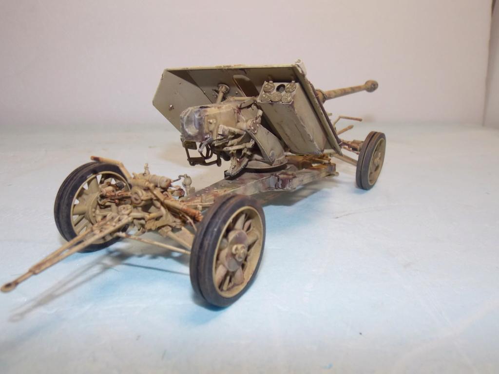 Mi roue mi chenille Pak 43 et semi chenillé lourd 1/35 TRUMPETER  Dscn7044