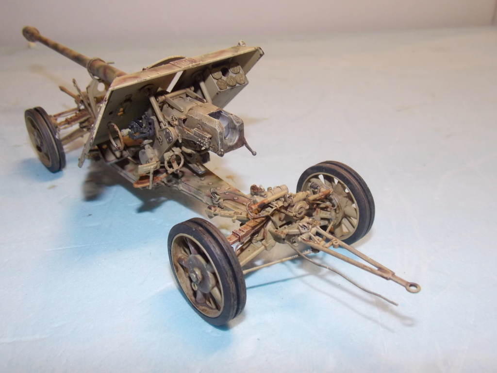Mi roue mi chenille Pak 43 et semi chenillé lourd 1/35 TRUMPETER  Dscn7045