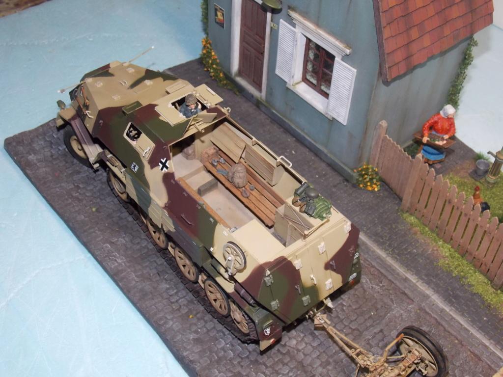 Mi roue mi chenille Pak 43 et semi chenillé lourd 1/35 TRUMPETER  Dscn7070