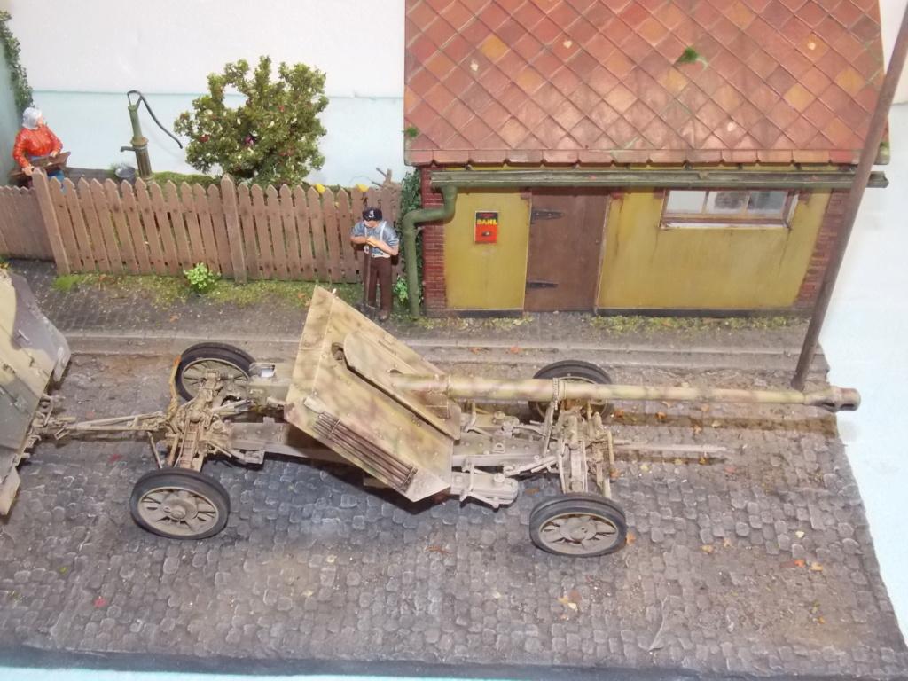 Mi roue mi chenille Pak 43 et semi chenillé lourd 1/35 TRUMPETER  Dscn7181