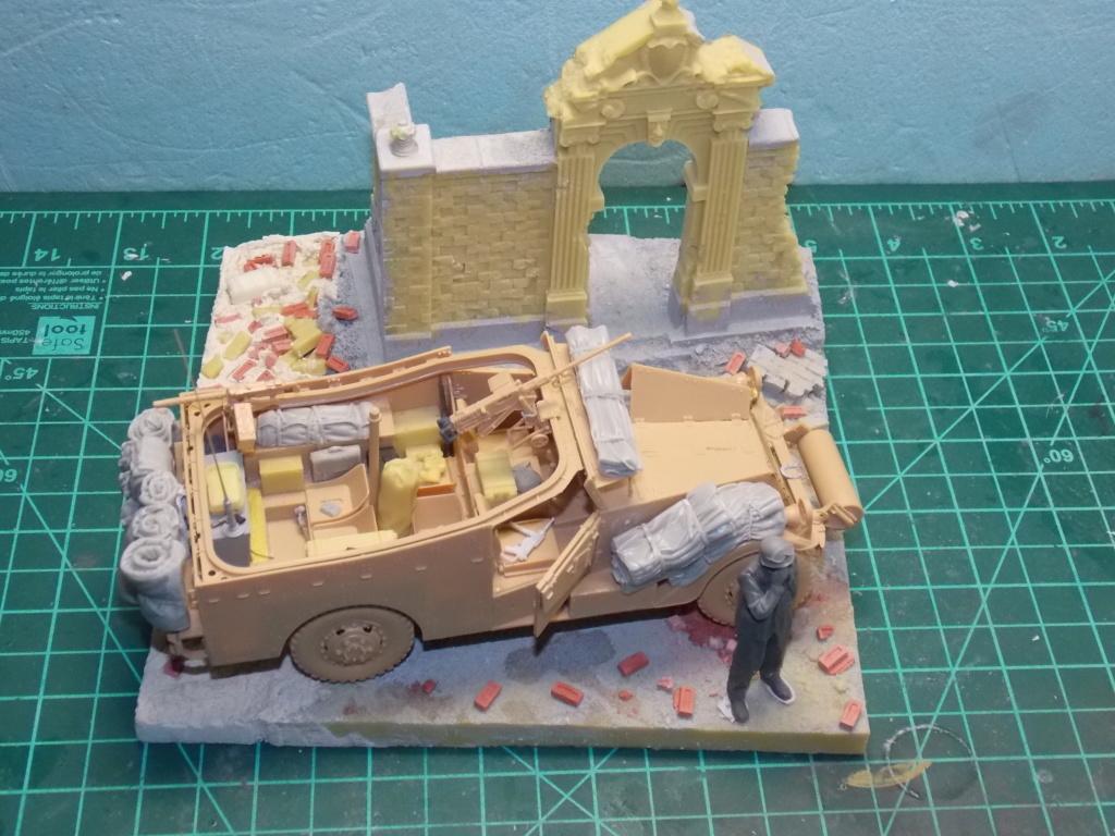 Deuxième DB à l'honneur - White Scout Car - Hobby Boss - 1/35 - Page 3 Dscn7250