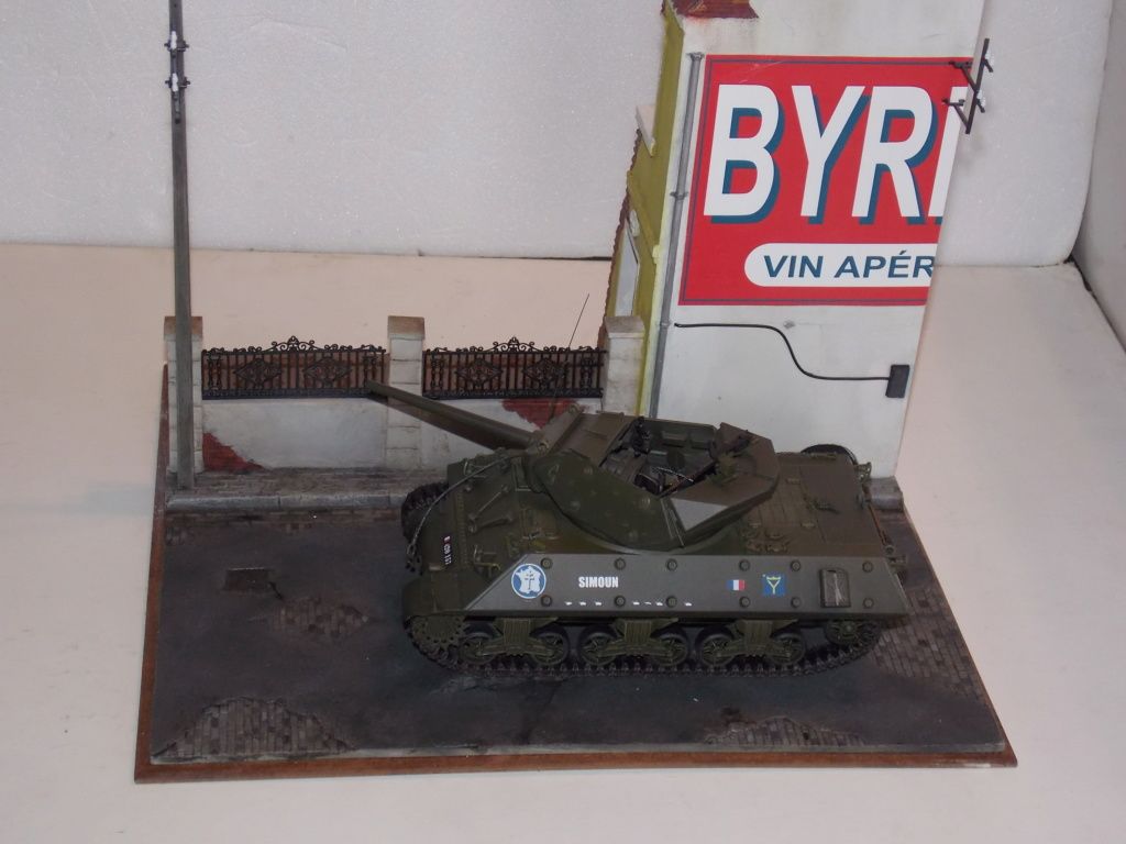 """Tank Destroyer M10 """"Le SIMOUN"""", 2ème DB - Tamiya 1/35 - Page 4 Dscn7393"""
