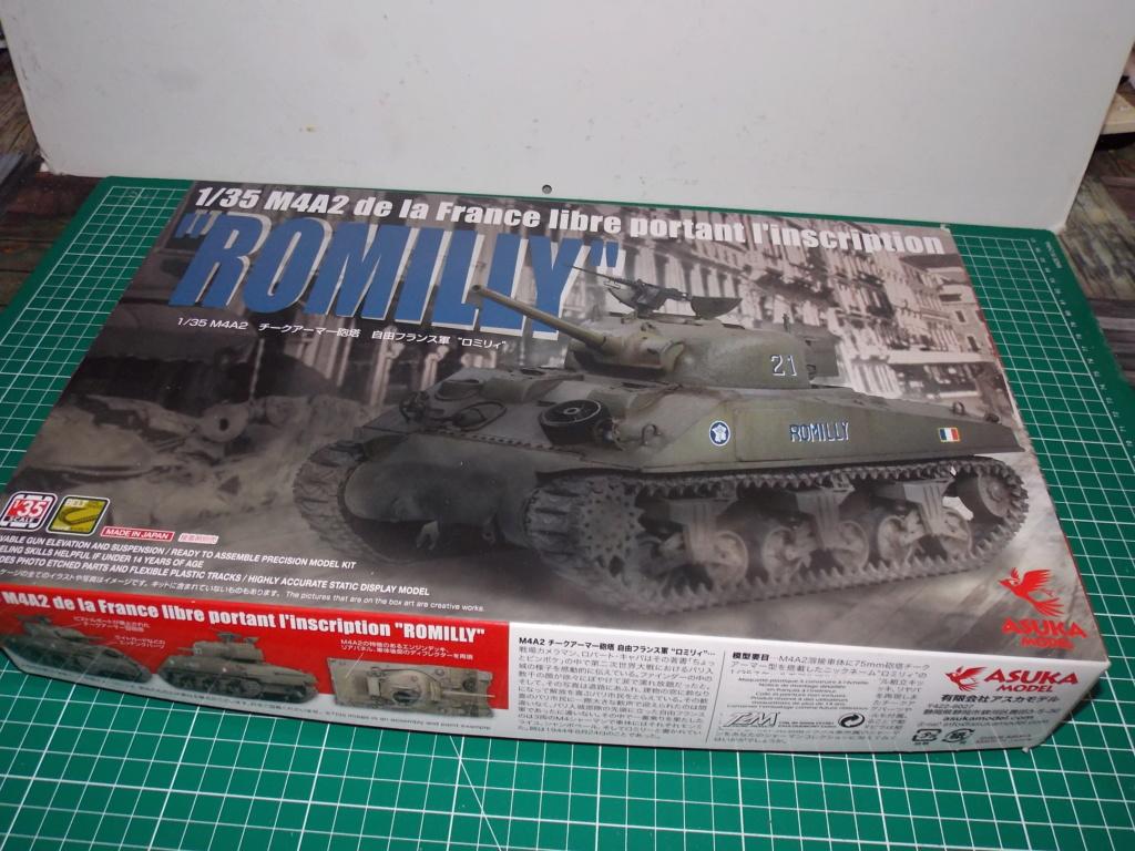"Sherman le ""ROMILLY ""  maquette ASUKA  1/35  Dscn7693"