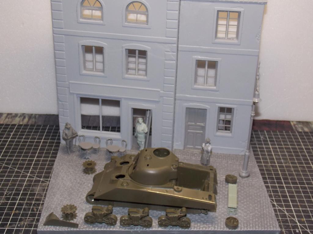 "Sherman le ""ROMILLY ""  maquette ASUKA  1/35  Dscn7701"
